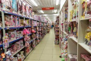 Магазин игрушек и спорттоваров +7(473) 278-84-27 - Стеллажи