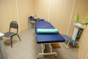 """Медицинский центр """"Фортуна"""" 8 (846) 957-13-07 - Массажный кабинет"""