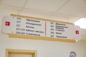 Частная многопрофильная клиника «Альфа — Центр Здоровья» +7 846 215-03-40 - Указатели
