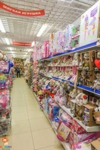 Магазин игрушек и спорттоваров +7(473) 278-84-27 - Витрины