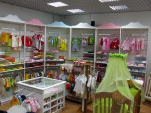"""Магазин """"Chicco"""" +7 846 928‑35-95 - Стеллажи"""