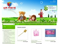 """Магазин игрушек """"VP-toys"""" 8 (473) 237-36-98 - Сайт"""